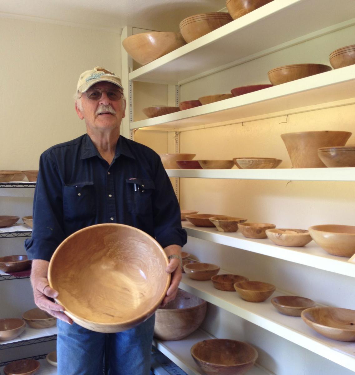 Artisanal Bowl Turner In Balfour British Columbia
