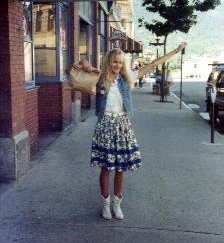Daryl Hannah filming Roxanne in Nelson, BC