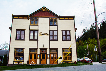 The Langham Cultural Centre in Kaslo, BC