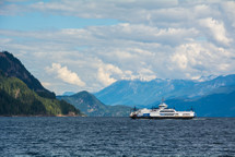 The Kootenay Lake ferry.