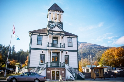 Kaslo City Hall Building, A National Historic Site built in 1898