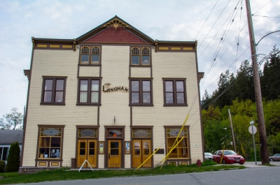 The Langham Cultural Centre building in Kaslo, BC