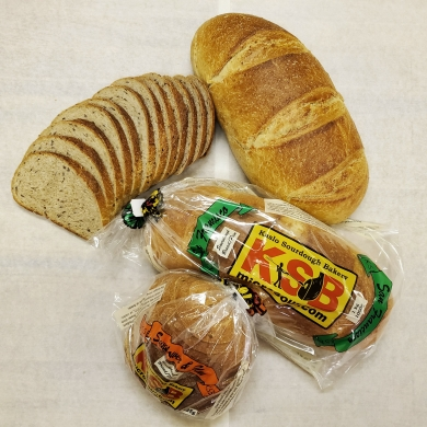 Various breads baked by Kaslo Sourdough
