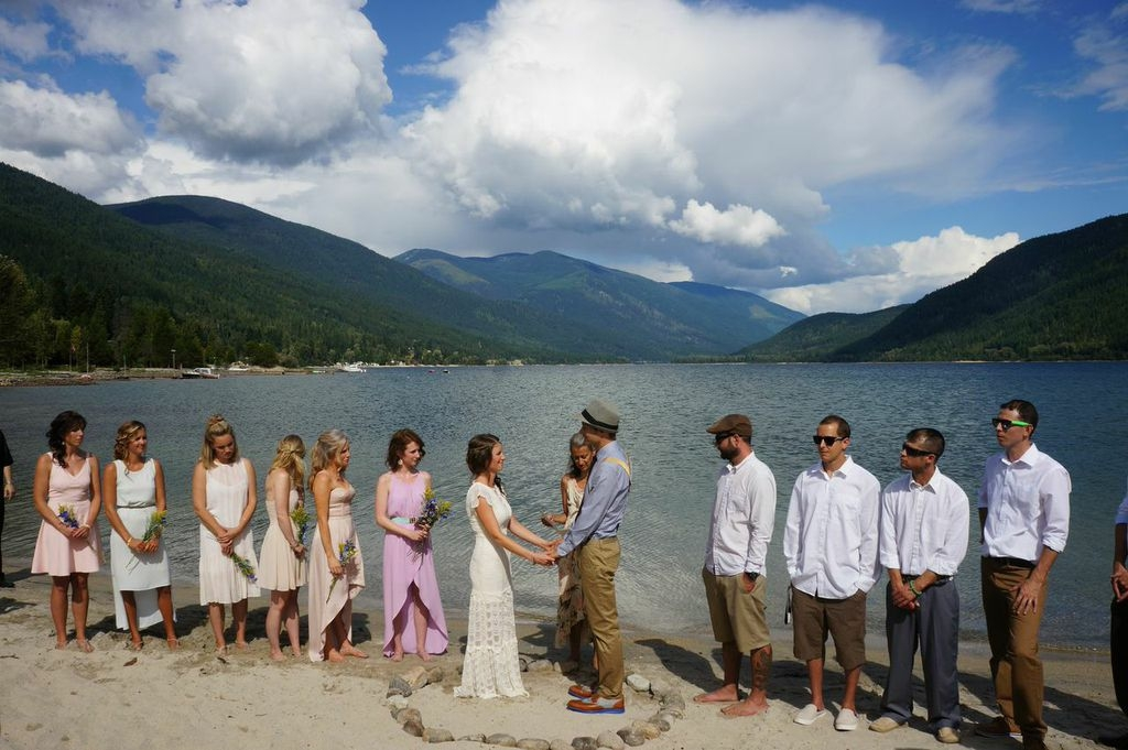 Weddings in the Nelson Kootenay Lake area