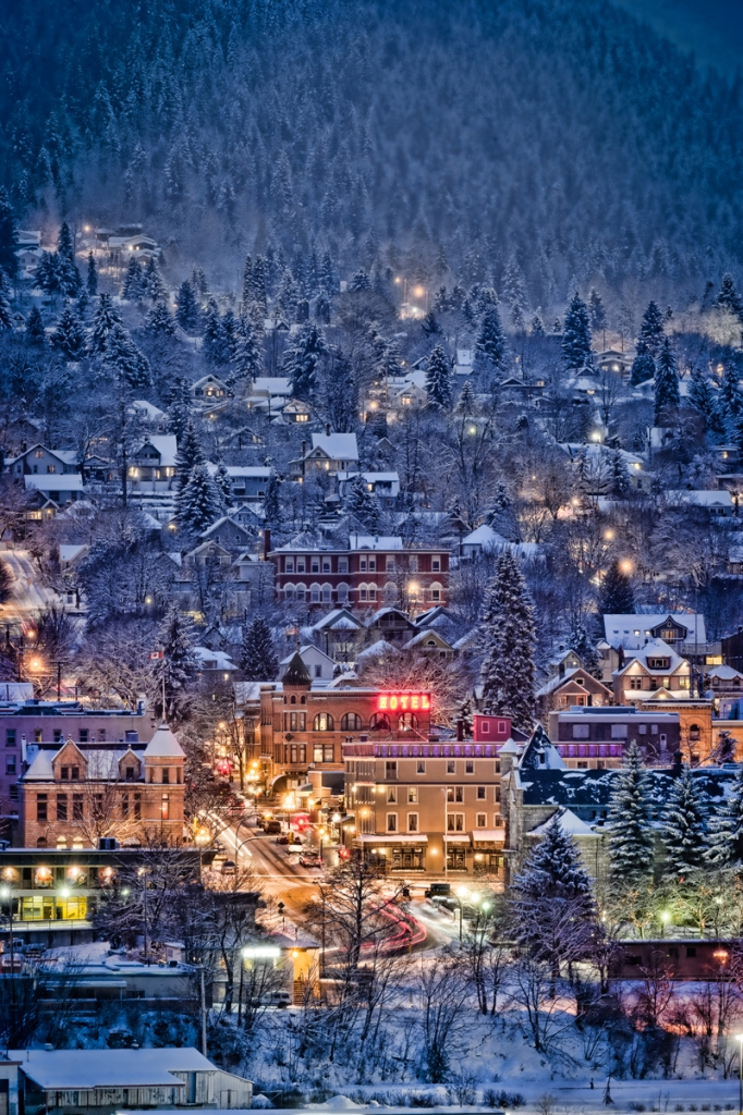 Winter Wonderland, Downtown Nelson, Photographer David Gluns