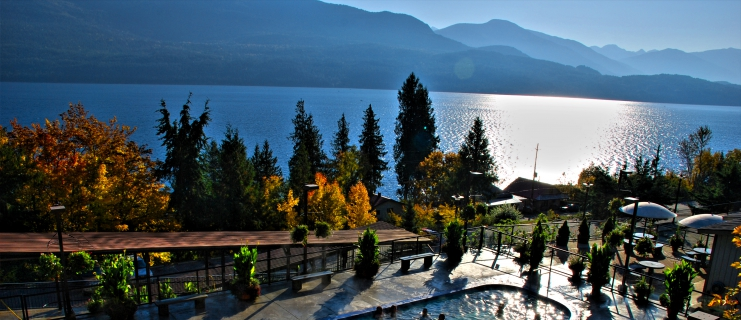 Ainsworth Hot Springs Ageless Warmth And Beauty