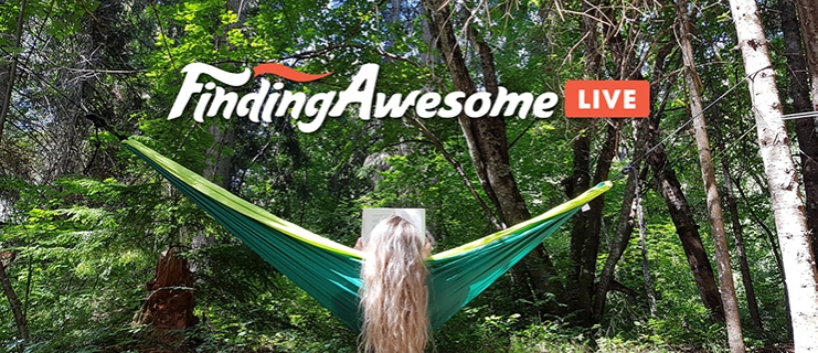 FindingAwesome Live Stream event