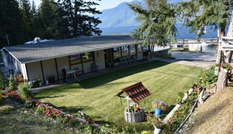 Bayshore Resort on the East Shore of Kootenay Lake