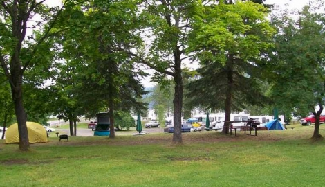 Kaslo Municipal Campground
