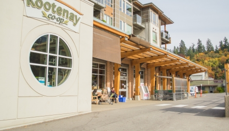 the outside of the Kootenay Co-op in Nelson, BC.