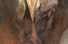 stalagmite caving cody caves