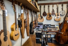 An array of instruments displayed at Mountain Fruit Folklore Centre in Kaslo BC.